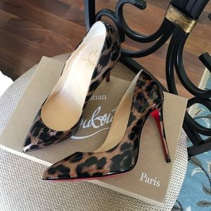 NWT Christian Louboutin pigalle follies pumps